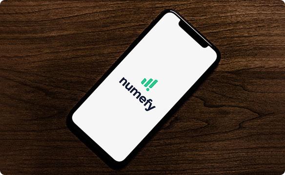 Logiciel Numefy sur mobile